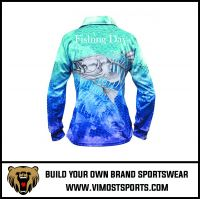 Women's Custom Sublimation Long Sleeve Fishing Shirt