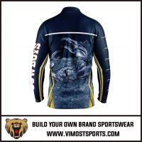 Men Custom Sublimation Long Sleeve Fishing Shirt