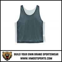 Custom Team LOGO Men Lacrosse reversible pinnies