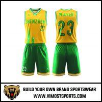 Women's Custom Sublimation Basketball Suit Uniform