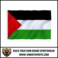 Custom Printed Polyester Palestine Flag OEM