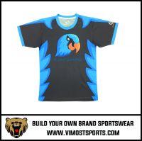 OEM Custom Printed Breathable Men T-shirt Sportswear