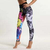 Cartoon Print Sport Breathable Yoga Pants