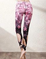 Fitness Leggings Flower Printed Yoga Pants