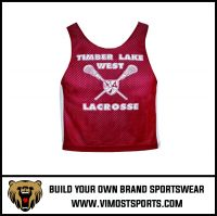 Custom Cheap Breathable Women Lacrosse reversible pinnies suit