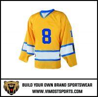 breathable sublimation custom hockey jersey suits 100% polyester quick dry hockey jerseys uniform