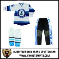 cheap sublimated printing custom team Ice Hockey suit uniform