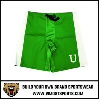 Solid Color Ice Hockey Shorts