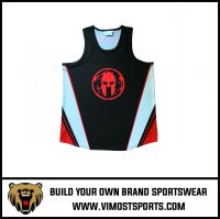 Cheap High Quality Custom Sublimation Men Singlet