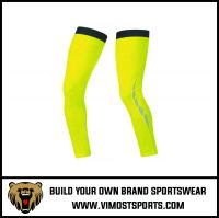 Factory Direct Made Price Sublimation no pattern Cycling Leg Warmers