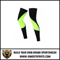 New fashion sublimation printed sports leg sleeves compression sleeves protective leg warmers
