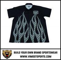Custom Motor Wear Sublimation Men Racing shirt pit crew shirt