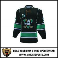 High quality custom  sublimated printing Ice Hockey Jersey Uniform