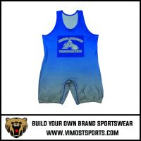 Newly design fitness custom comfortable wrestling singlet/weightlifting suit