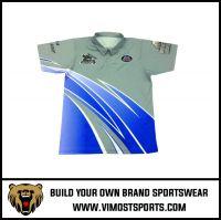Custom Club Sublimation Printing  Racing Shirt Uniform