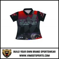 Mens Custom Made Racing Polo Shirts