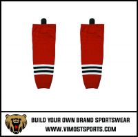 Custom Printing Fashion Stripe Ice Hockey Socks