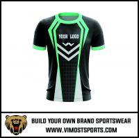 Cheap sublimated custom team printing  gaming shirts