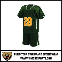 Custom Number Logo Sublimation Lacrosse wear