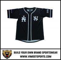 Custom Sublimation Men Baseball Jersey