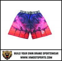 Customized  basketball shorts 100% polyester, basketball suits, basketball sets