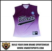 Custom Baseball jersey sleeveless (baseball vest) baseball singnet