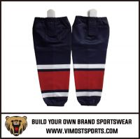 Professional custom wholesale ice hockey socks custom made in china