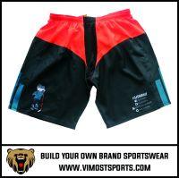 New Design Good Quality Customized Logo Sublimation ice hockey shorts