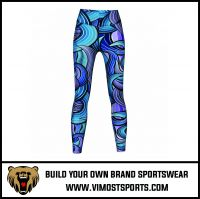 High quality custom yoga high waisted workout sublimated leggings,tights