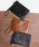 Leather Clutch - HP or Mini Tablet