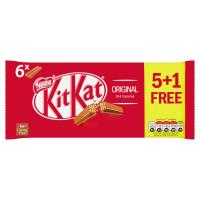 Nestle KITKAT 2 Finger Milk Multipack 26( 6x20.7g) 5+1 Extra Free