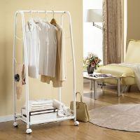 Moveable basket clothes
