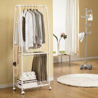 Moveable Plus clothes rack