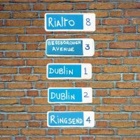 Dublin Street Sign Magnets - Home Décor Gift