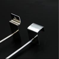 Hook for rectangle tube metal hanging display hook