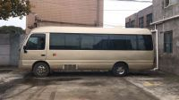 Japan used toyota coaster mini bus 25 seter bus in low price