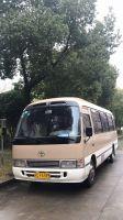 Japan used toyota coaster mini bus 25 seter bus in low price