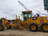 used caterpillar motor grader 140k 140H with strong power