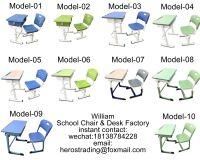 school chair & desk