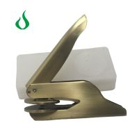 Ideal Embossing Seal Certificate Holder