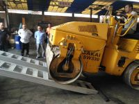 rubber tracked machinery ramps