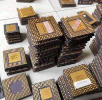 Intel Pentium CPU Processor with Gold Pro Ceramic CPU Scrap Pins for Sale Electronic Universal 84669400 Slag 3KG LMS DE