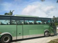used 51 seter tourism bus diecast bus model for sale