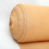 Beige color 100% new virgin HDPE shade net 150gsm with UV stablizer