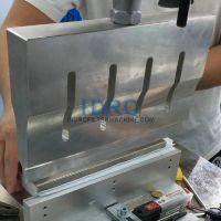 Pleated cartridge pleats middle seam welder
