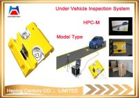Under vehicle surveillance system with ANPR camera in border, checkpoints