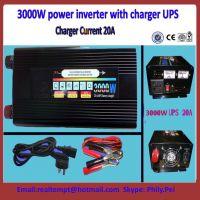 2000W power inveter 12V 24V to 220V/110V with Charging UPS