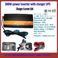 China best 300W power inveter 12V 24V to 220V/110V with 6A Charging UPS