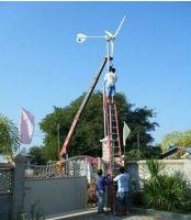3000W Windturbine +genarator+ grid-tie inverter solar power system