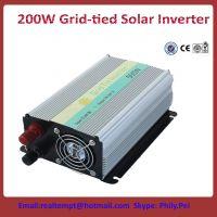 China best 200W Grid-tied solar inveter 10V- 30V 22V-60V to 220V/110V